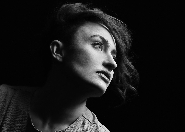 Портртретная фотосессия в студии в Москве